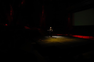 Photo en ouverture du RIAPA, le Rassemblement Inter nations d'Art Performance Autochtone, 13 septembre 2018, Amphithéâtre de Wendake Crédit photo: Mathieu Fortin